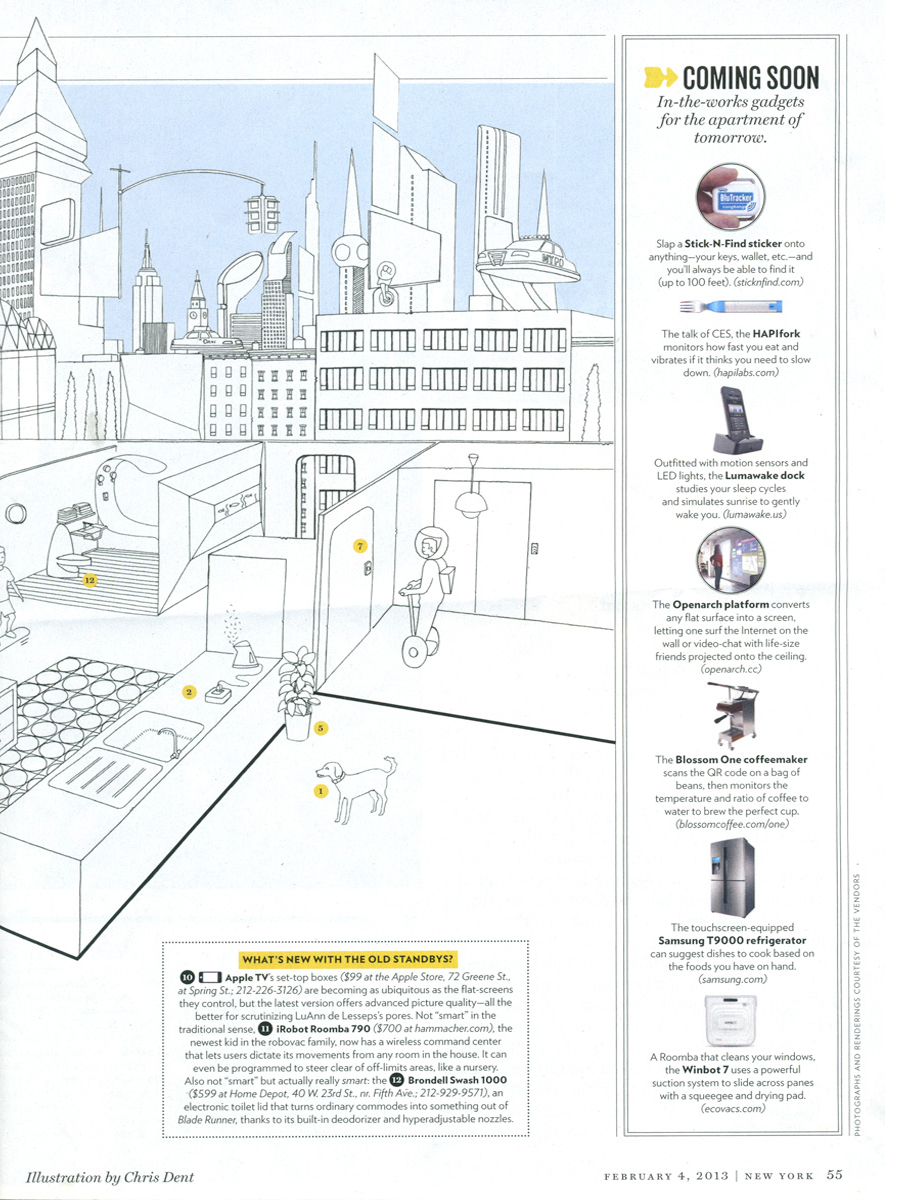 New York Magazine - The Smarter Apartment