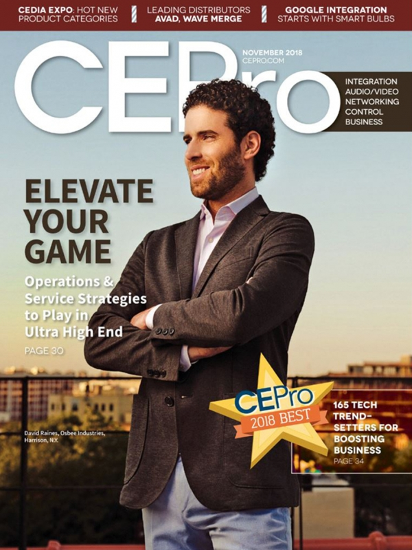 CE Pro - Osbee Cover Story