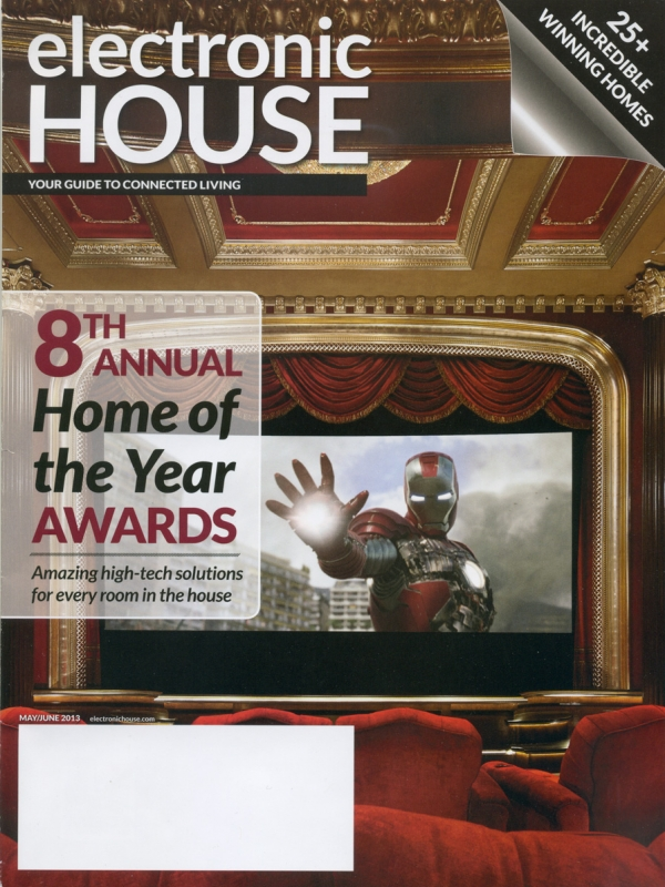 Electronic House: Osbee wins Bronze Home of the Year